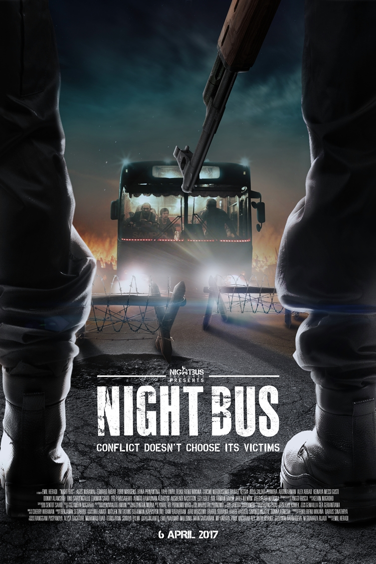 night bus poster